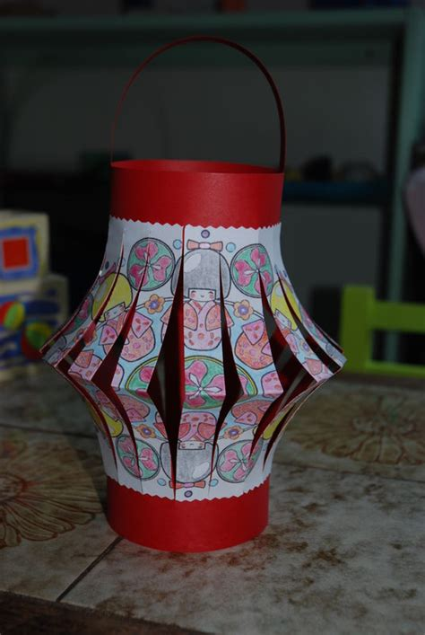 lanterne chinoise maternelle