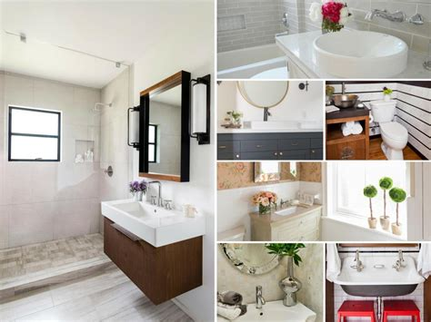 Before-and-after Bathroom Remodels On A Budget Kitchen Cabinet Brands Reviews Colour Professionally Painted Cabinets Cost Ebay Hardware Sinks Custom Houston Red What Color To Paint With Black Appliances