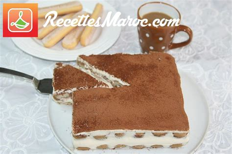 recette dessert tiramisu recettes maroc