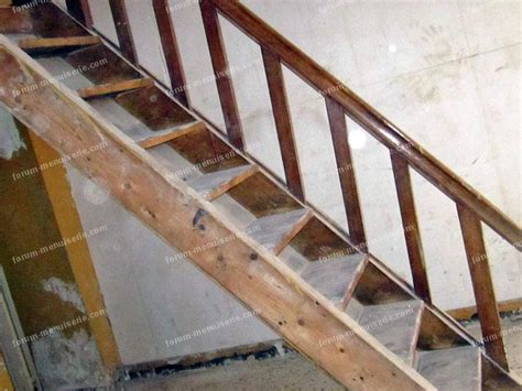 forum menuiserie conseils vitrifier un vieux escalier que j ai d 233 j 224 ponc 233