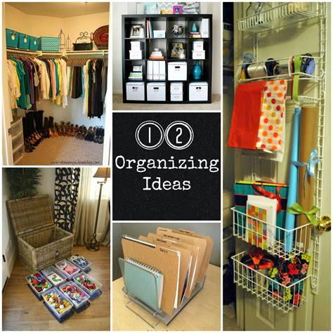 12 Organizing Ideas  Fun Home Things