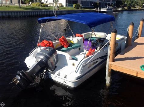 Hurricane Fun Deck Boats Used by 2001 Used Hurricane Fun Deck Gs 201 Deck Boat For Sale