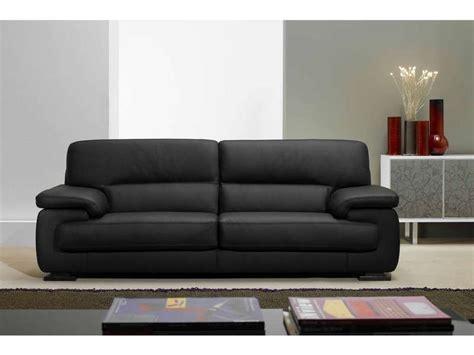 canap 233 fixe 3 places balsamo coloris noir prix promo canap 233 cuir conforama 1 158 40 ttc au