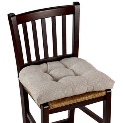 buy grey chair pads from bed bath beyond
