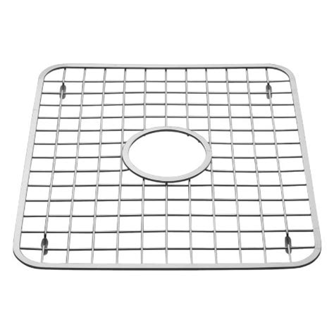 interdesign sink grid in middle polished stainless steel