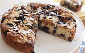 Blueberry Almond Coffee Cake - Points Recipes