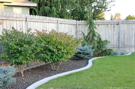 Concrete Flower Garden Borders cement flower bed border outdoor spaces