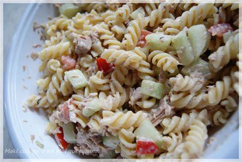 salade de thon p 226 te et menthe maki cuisine