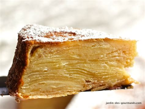gateau feuillet 233 aux pommes jardin des gourmandsjardin des gourmands