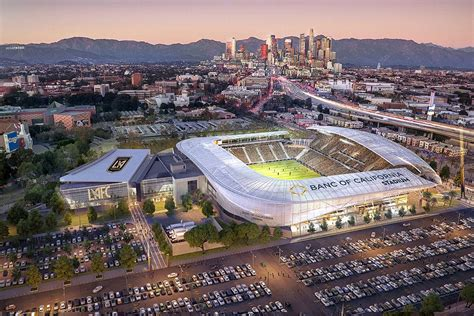 Lafc Hold Ribbon Cutting Ceremony For Banc Of California