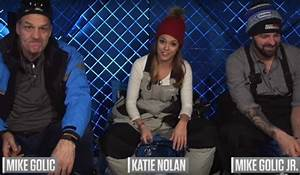 Ice Fishing Video: ESPN's Katie Nolan Joins the Golics for ...