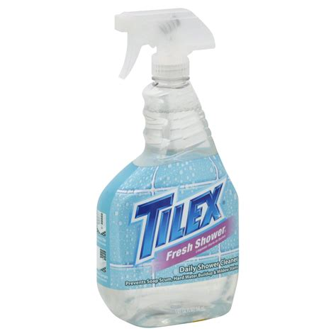 tilex daily shower cleaner fresh shower 32 fl oz 1 qt 946 ml food grocery cleaning