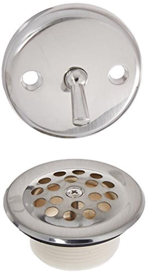 danco 89242 trip lever tub bath drain and overflow trim kit plate in brushed nickel b000lx89cw