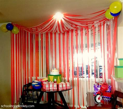 Circus Party Diy Circus Tent  Party Ideas  Circus Party