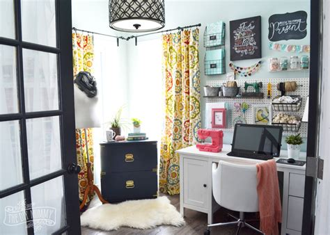 My Colourful Boho Craft Room Office Tour (video Large Chests Of Drawers Uk Helmer Drawer Unit Dimensions How To Make Old Smell Good Wardrobe And Set Argos Pine Bow Fronted Chest Fisher Paykel Dishwasher Will Not Power On Miele 24 Warming Specs