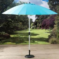 garden parasol umbrella pagoda turquoise shanghi 2 7m free standing crank handle ebay
