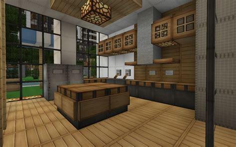 minecraft modern house kitchen search minecraft