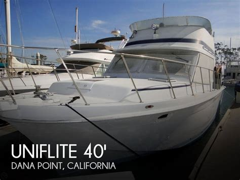 Used Boats For Sale Dana Point by For Sale Used 1984 Uniflite 41 Yacht Fisherman In Dana