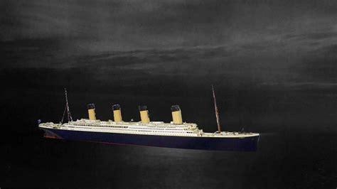2d animation of titanic sinking