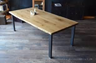table basse m 233 tal et bois sur mesure micheli design