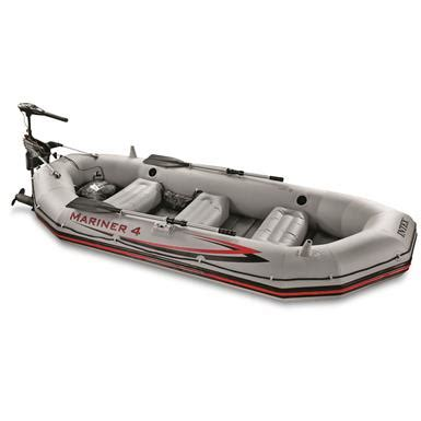 Inflatable Boat Warehouse by Intex Mariner 4 Complete Inflatable Boat Kit 678916