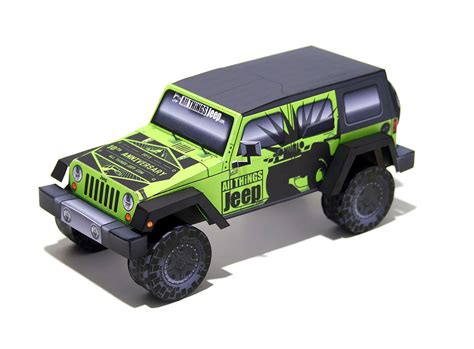 All Things Jeep 10th Anniversary! The Papercraft Model