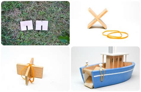 Wooden Toy Paddle Boat Plans by How To Make A Toy Paddle Boat