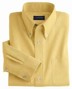 Lands' End Mens Long Sleeve Buttondown Oxford Shirt
