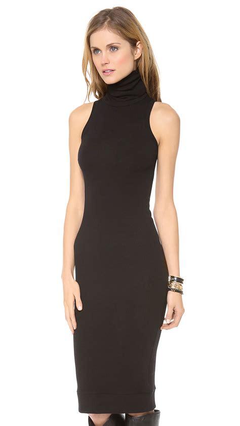Sleeveless Dress by Rachel Pally Sleeveless Turtleneck Dress Black In Black