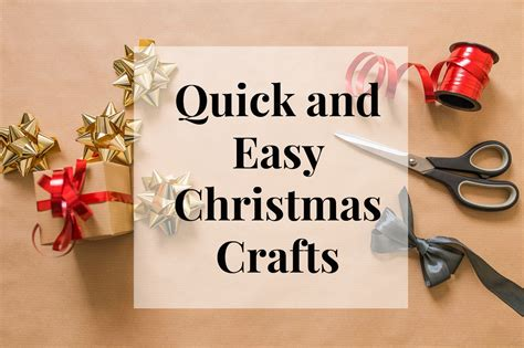 Quick And Easy Christmas Crafts  Salty Blonde