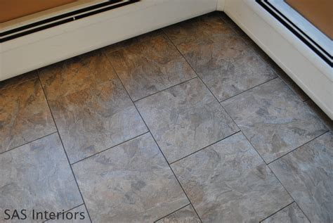diy how to install groutable vinyl floor tile burger