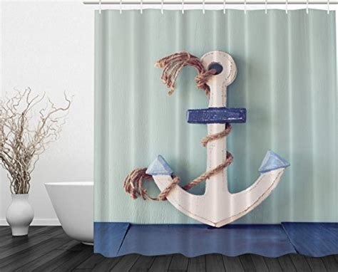 Best Anchor Shower Curtains Light Oak Kitchen Doors Rustic Bathroom Lighting Fixtures Ways To Hang Lights In Bedroom Globe Brushed Nickel Finish Wall Landscape Kansas City 12 Volt