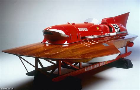 Ferrari Boat by Ferrari Powerboat Set To Fetch 163 1 5m At Auction Daily