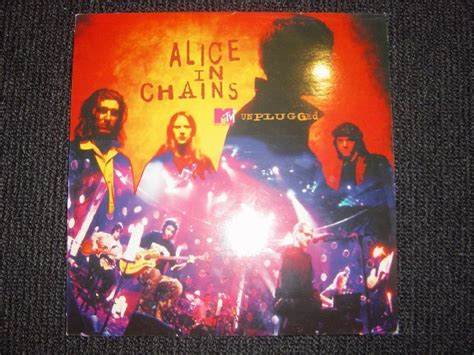 popsike in chains mtv unplugged lp vinyl