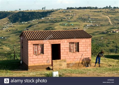 Rdp Houses In Fredville Which Is 40 Kilometres From Durban