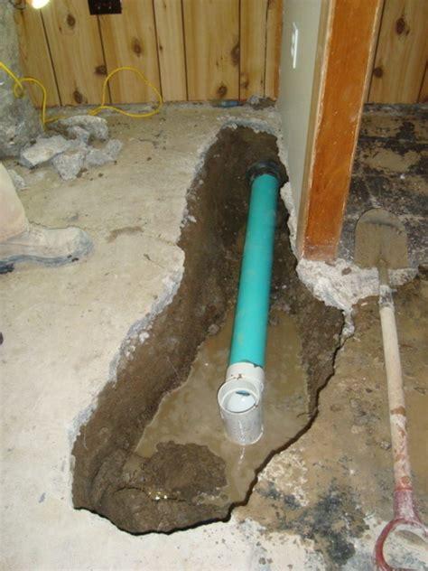 basement floor drain rooms