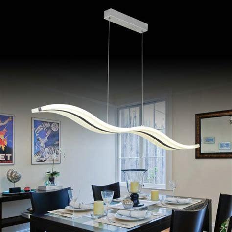 moderne led vague pendentif le luminaire pour salon salle 224 manger 110 v 220 v livraison