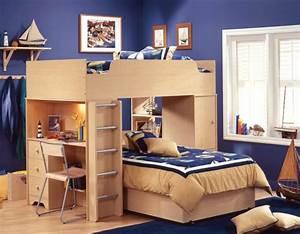 Schreibtisch Wohnzimmer Lösung : 53 etagenbetten die perfekte l sung f rs kinderzimmer wenn sie raum sparen wollen ~ Markanthonyermac.com Haus und Dekorationen