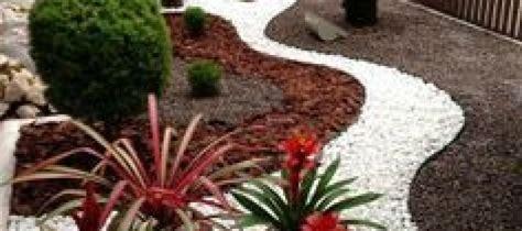 Decoracion De Jardines Con Piedra  Curso De Organizacion