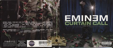 eminem curtain call the hits cd rap guide