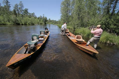 Au Sable River Boat by 2010 Midwest Tour On The Fly With Bop
