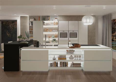 dix cuisines blanches aux lignes 233 pur 233 es inspiration cuisine