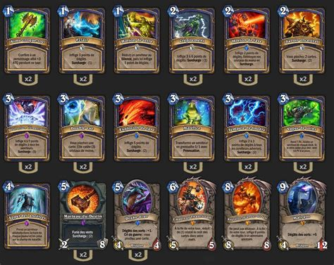 deck chaman malygos tgt hearthstone heroes of warcraft