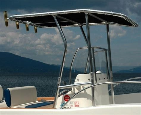 Tee Tops For Center Console Boats by Aluminum Center Console Boat T Tops Pictures To Pin On
