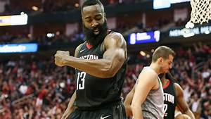 Video of James Harden traveling on step back in Game 1 ...