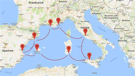 Alle News zu Kreuzfahrten im Mittelmeer 2017 und 2018 Reise