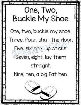 Row Row Row Your Boat Lyrics Polar Bear by One Two Buckle My Shoe Printable Nursery Rhyme Poem