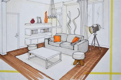 comment dessiner un salon