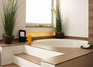 Boden Für Badezimmer : runde badewanne ein highlight im bad planungswelten ~ Markanthonyermac.com Haus und Dekorationen