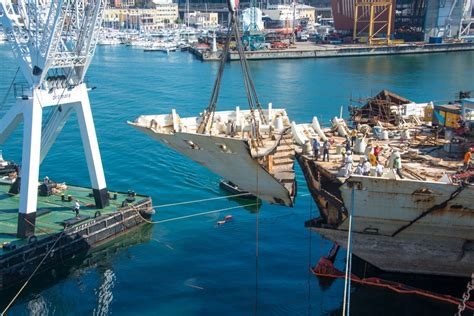 Schip Concordia by Concordia Recycling Project Complete Cruise Industry